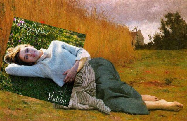 Covers albums pinturas clasicas - miley