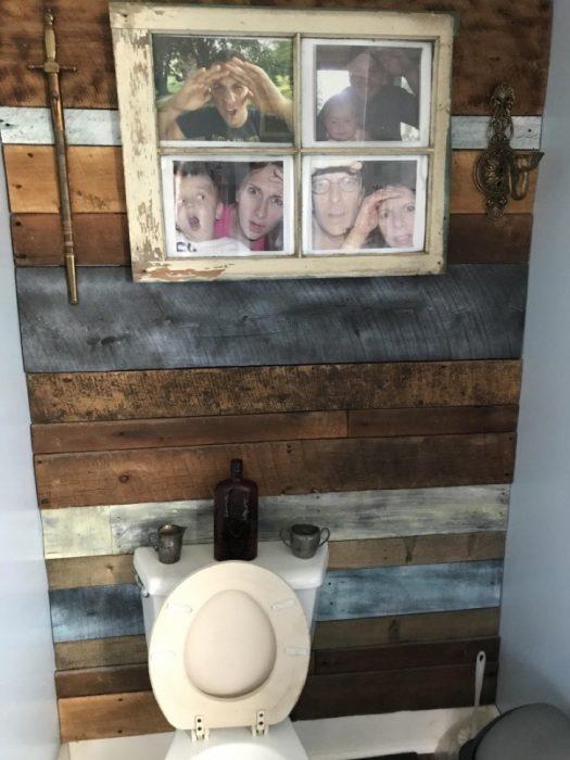 fotos en el baño