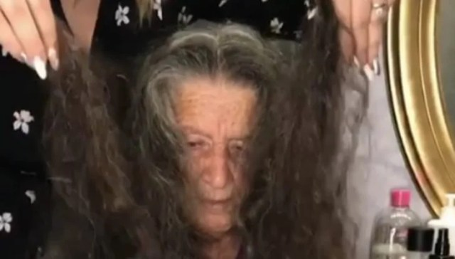abuelita greñuda