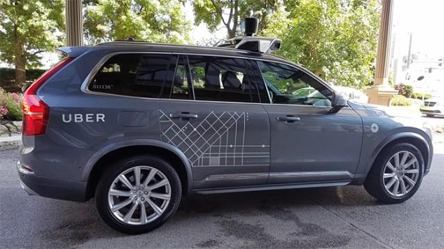 Uber que se maneja solo