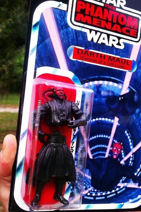 Los entusiastas de star wars llorarían con éste juguete