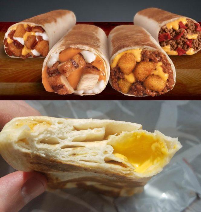 burrito expectativa vs realidad