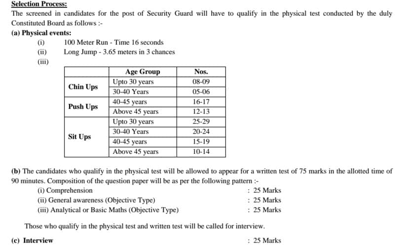 RRCAT Syllabus 2015 for 70 Asst Security Officer and Security Guard Posts