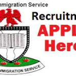 Nigerian immigration Service Recruitment 2018/2019 | NIS Application Registration Form