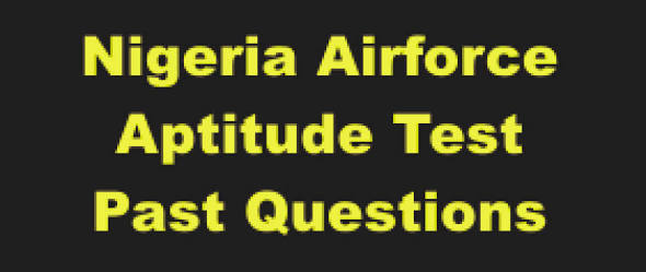 see nigerian airforce past questions and answers for 2018