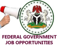 Latest Federal Government Job in Nigeria May 2020