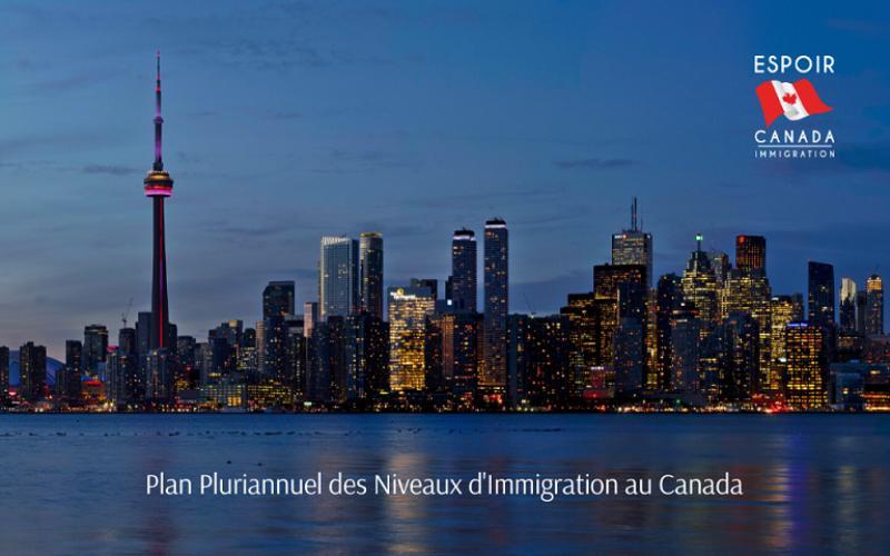 Le Canada accueillera jusqu'à 390 000 immigrants en 2022