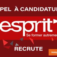 ESPRIT / recrute [des enseignants permanents]