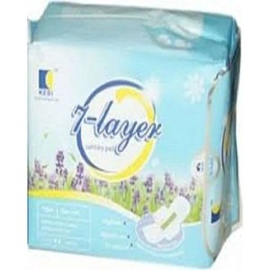 Kedi Active Oxygen And Negative Ion 7-layers Sanitary Pad
