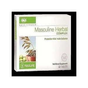 GNLD Masculine Herbal Complex – 60 Tablets