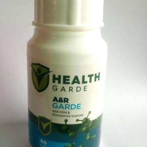 HEALTHGARDE A&R GARDE with MSM & Glucosamine Sulphate
