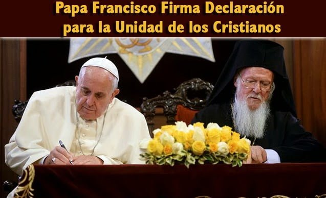 El Papa Francisco firma un decreto de canonización ...