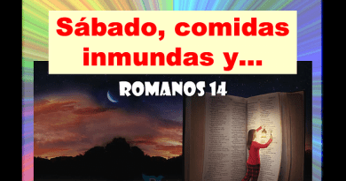 Sábado, Comidas Inmundas y Romanos 14