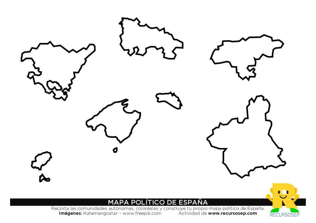 Construye tu propio mapa político de España