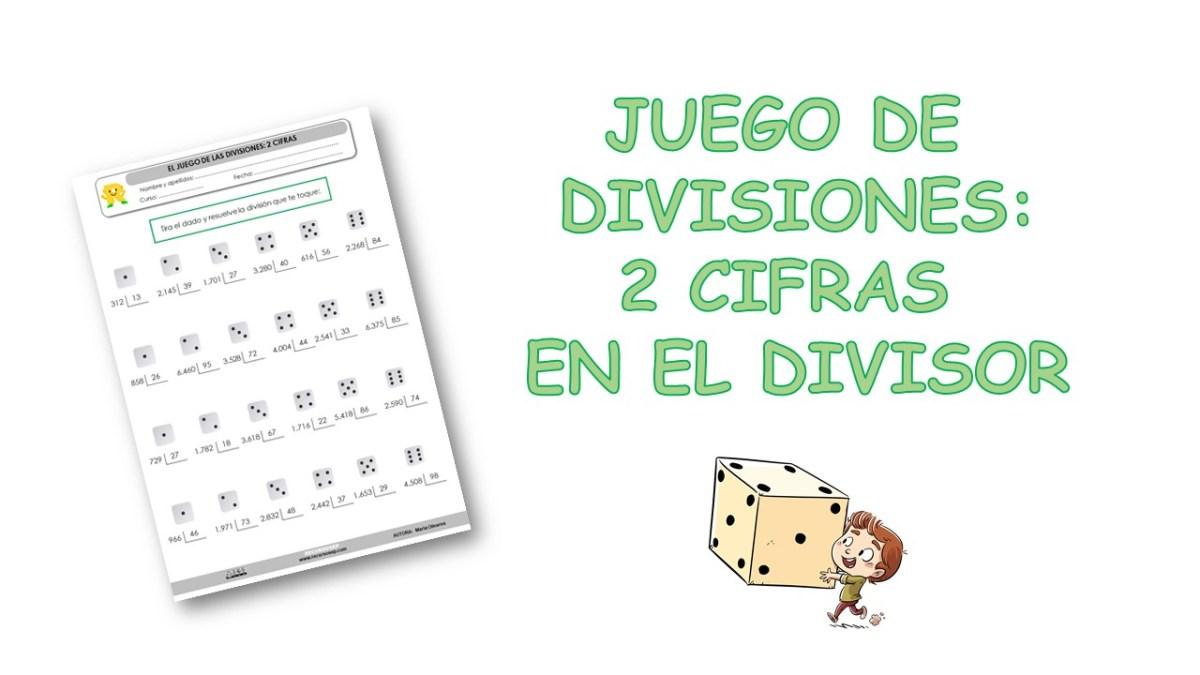 Juego De Divisiones 2 Cifras En El Divisor