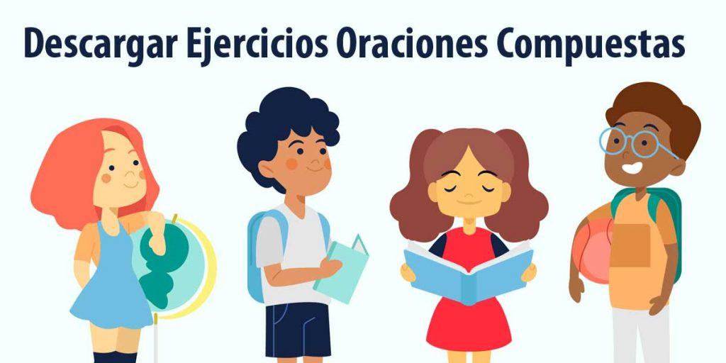 descargar ejercicios oraciones compuestas 4 ESO