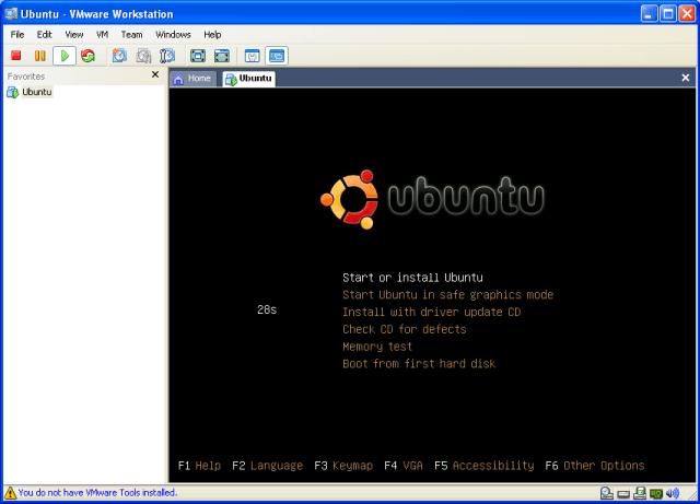 instalacion UBUNTU-Inicio