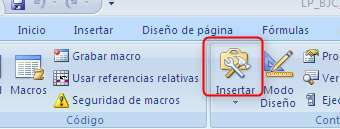 Excel.Ficha programador.Boton insertar