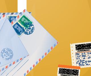 Sobres de correo postal