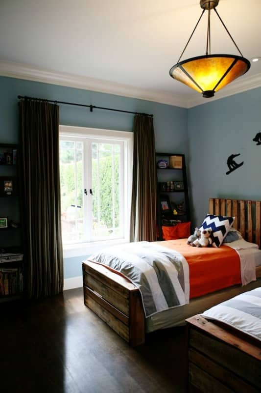 Boys Bedroom From Pallets Recyclart