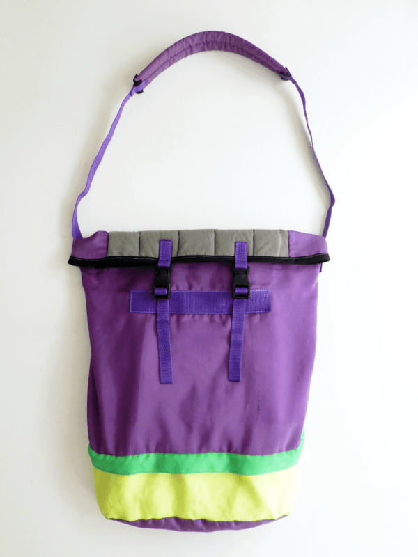 Upcycled DIY Maxi Tote Bag Recyclart