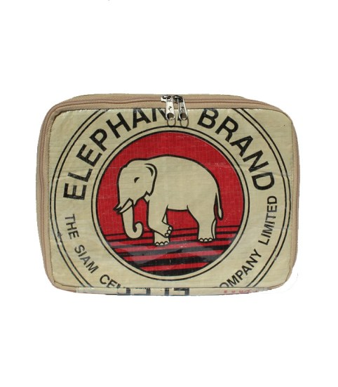 Elephant Brand Recycled iPad Zip Pouch 5