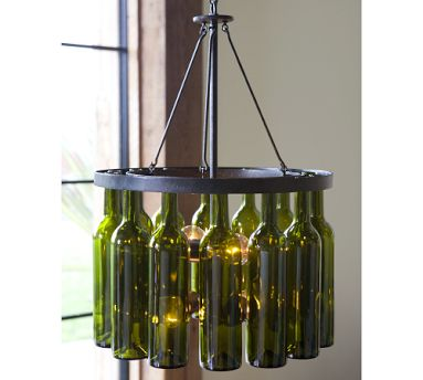 As Much I Like The Idea Of Pottery Barn Recycling And Making This Great Chandelier Price Tag Is A Bit Steep It Out My Range