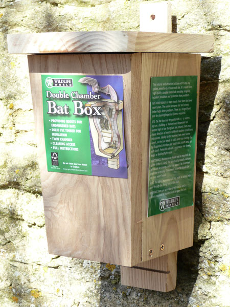 Wooden Bat Box