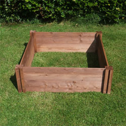 Classic Wooden Raised Bed 90cm x 90cm