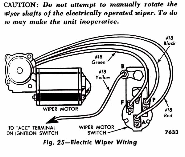 windshield wiper wiring diagram wiring diagrams ford truck technical s and schematics section h wiring gto wiper motor wiring diagram description attached images source