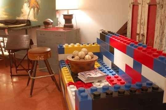 необычное использование LEGO 15