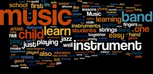 музыка и ключевые слова
