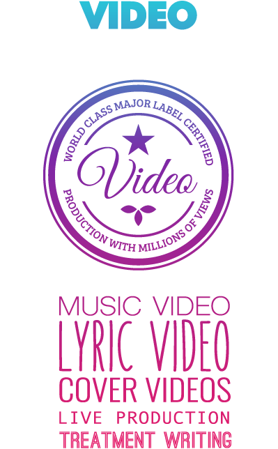 video badge with services attached