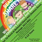 Poster Design Childrens Swap Shop Wantage