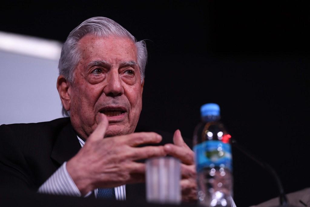 El Premio Nobel de Literaura Mario Vargas Llosa. Foto: Archivo/Télam
