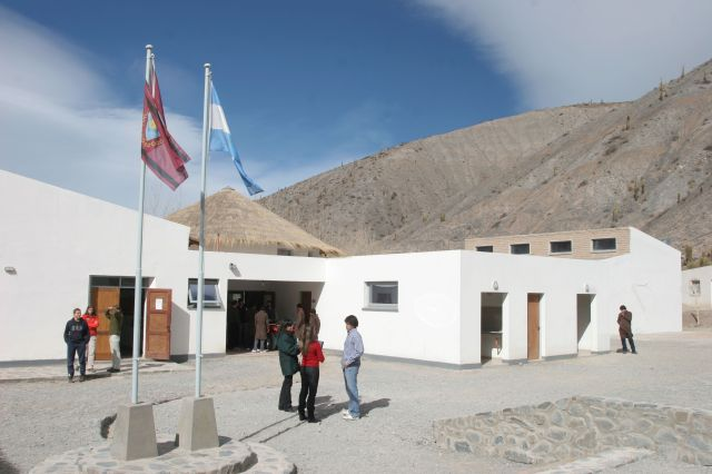 El secundario de montaña Alfarcito, en Salta, tuvo su primera promoción en 2014.