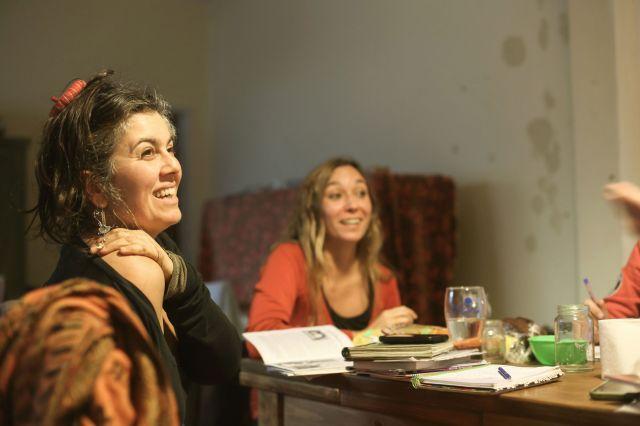 La abogada Karina Valobra en una reunión de la Red. | Rodrigo Mendoza