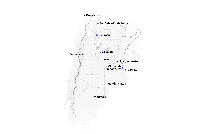 MapaArgentinaFrio