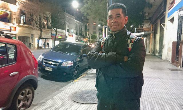 Rodolfo tiene 38 años, estuvo preso y vivió en la calle.