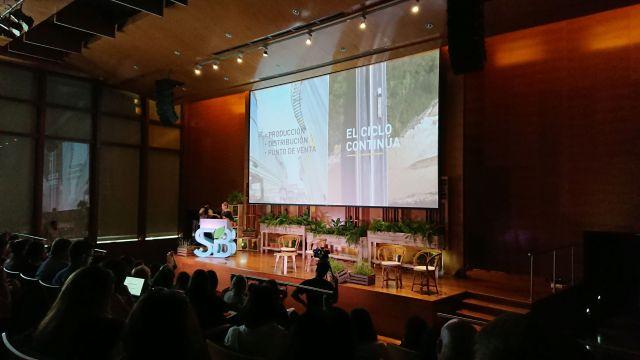 La presentación de Karen Vizental, de Unilever.