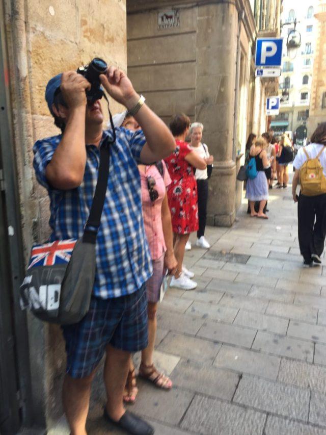 Turistas en Barcelona, en septiembre. Foto: JS