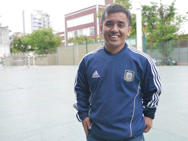 Facundo Rojas, capitan de la Selección Argentina de Talla Baja.