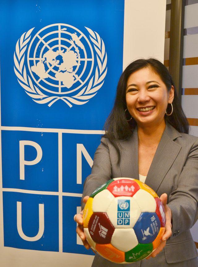Morimoto, directora de PNUD en Argentina, adhirió al encuentro. Crédito: PNUD Argentina.