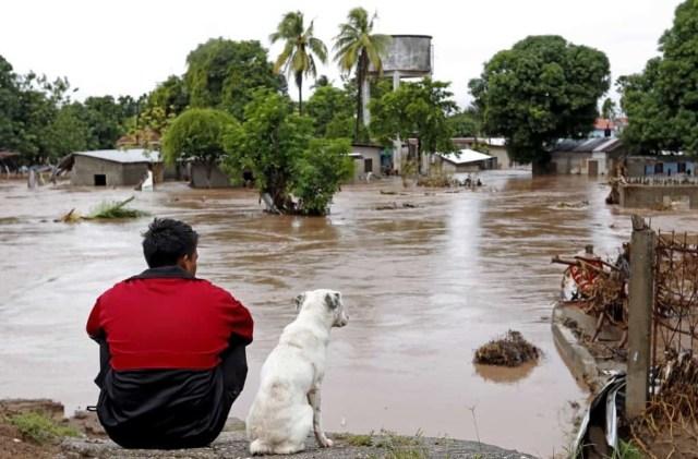 Inundación en Honduras.