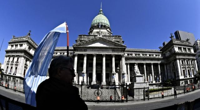Foto del Congreso argentino.
