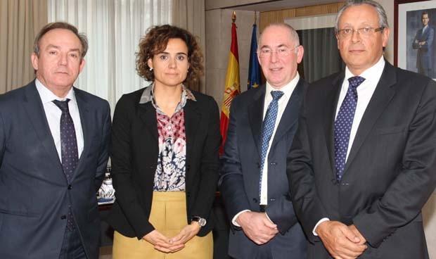 Javier Castrodeza, Dolors Montserrat, Francisco Miralles y Tomás Toranzo
