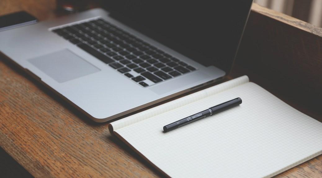 matériel de base pour la rédaction web