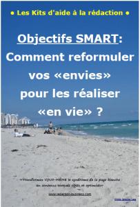 Objectifs SMART - Kit d'aide à la rédaction