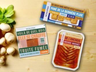 monoprix packaging jeux de mots