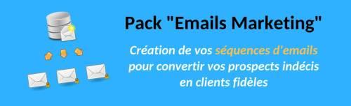 pack rédactionnel Emails Marketing